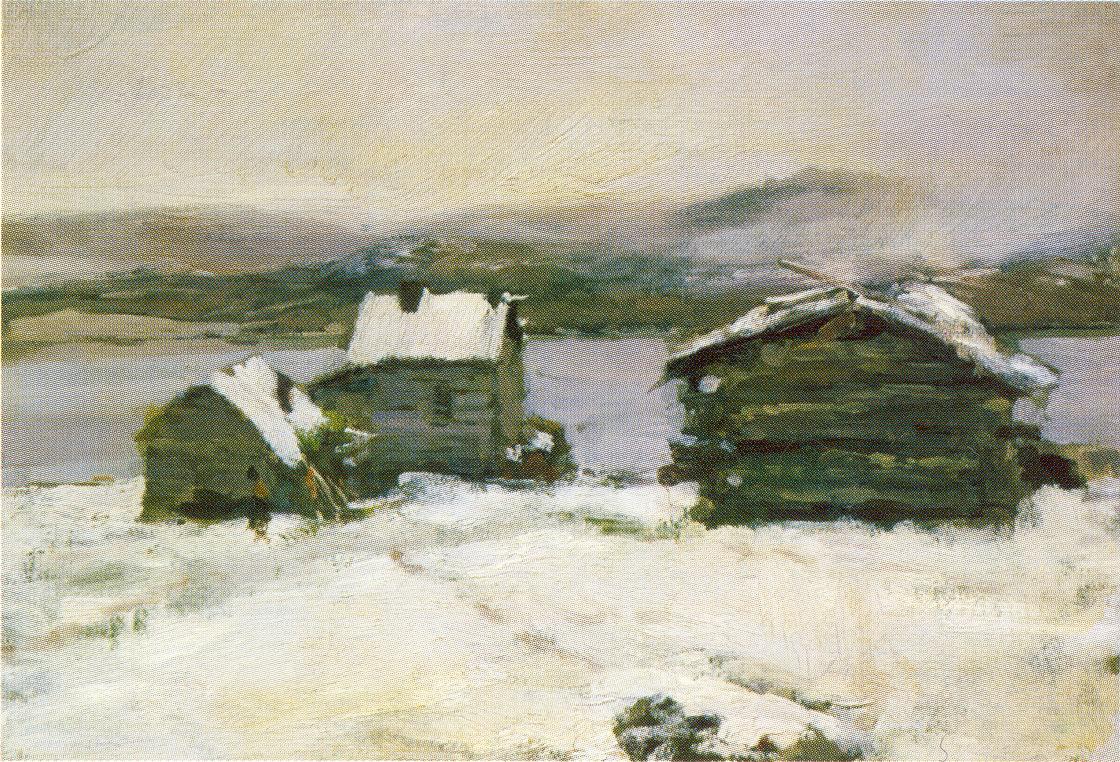 Зима в Лапландии, Коровин Константин Алексеевич