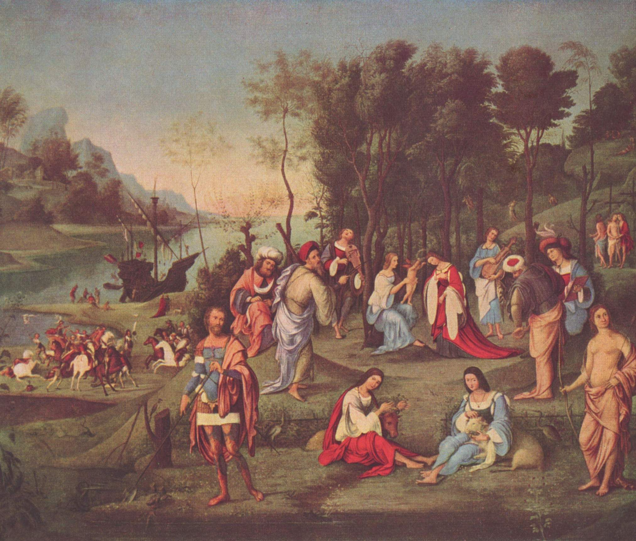 Il regno di Cosmo (правление космы, совета десяти), Коста Лоренцо