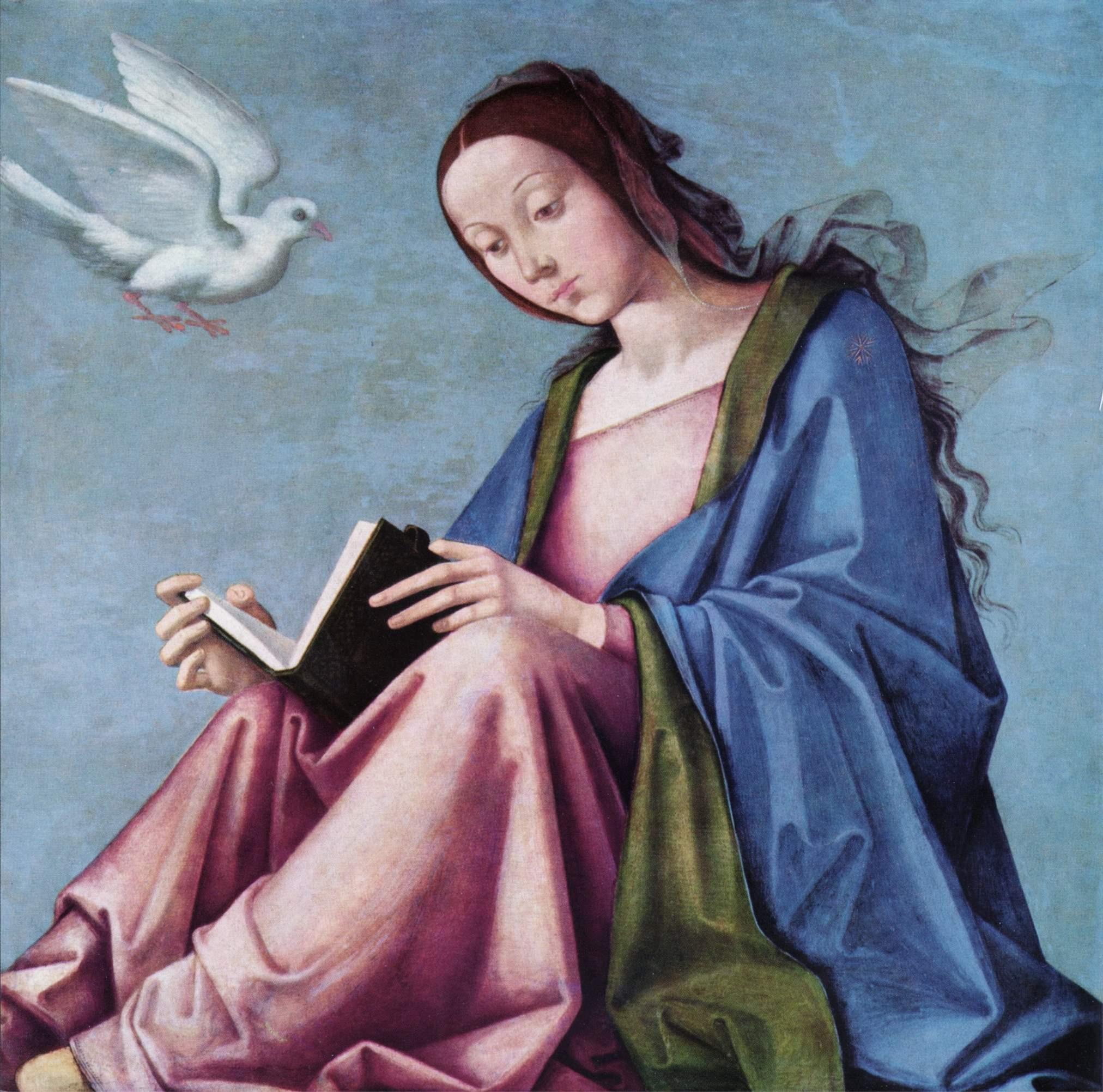 Благовещение (читающая Мария), Коста Лоренцо