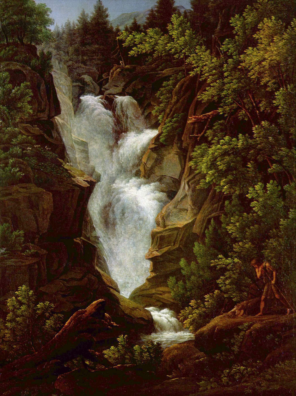 Водопад, Кох Йозеф Антон