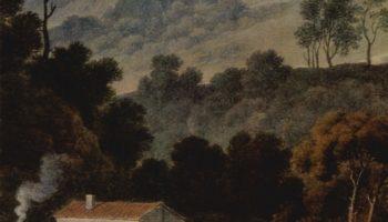 Монастырь Сан Франческо в Сабинских горах близ Рима. Фрагмент