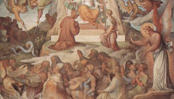 Цикл фресок в Каза Массимо (Рим). Зал Данте