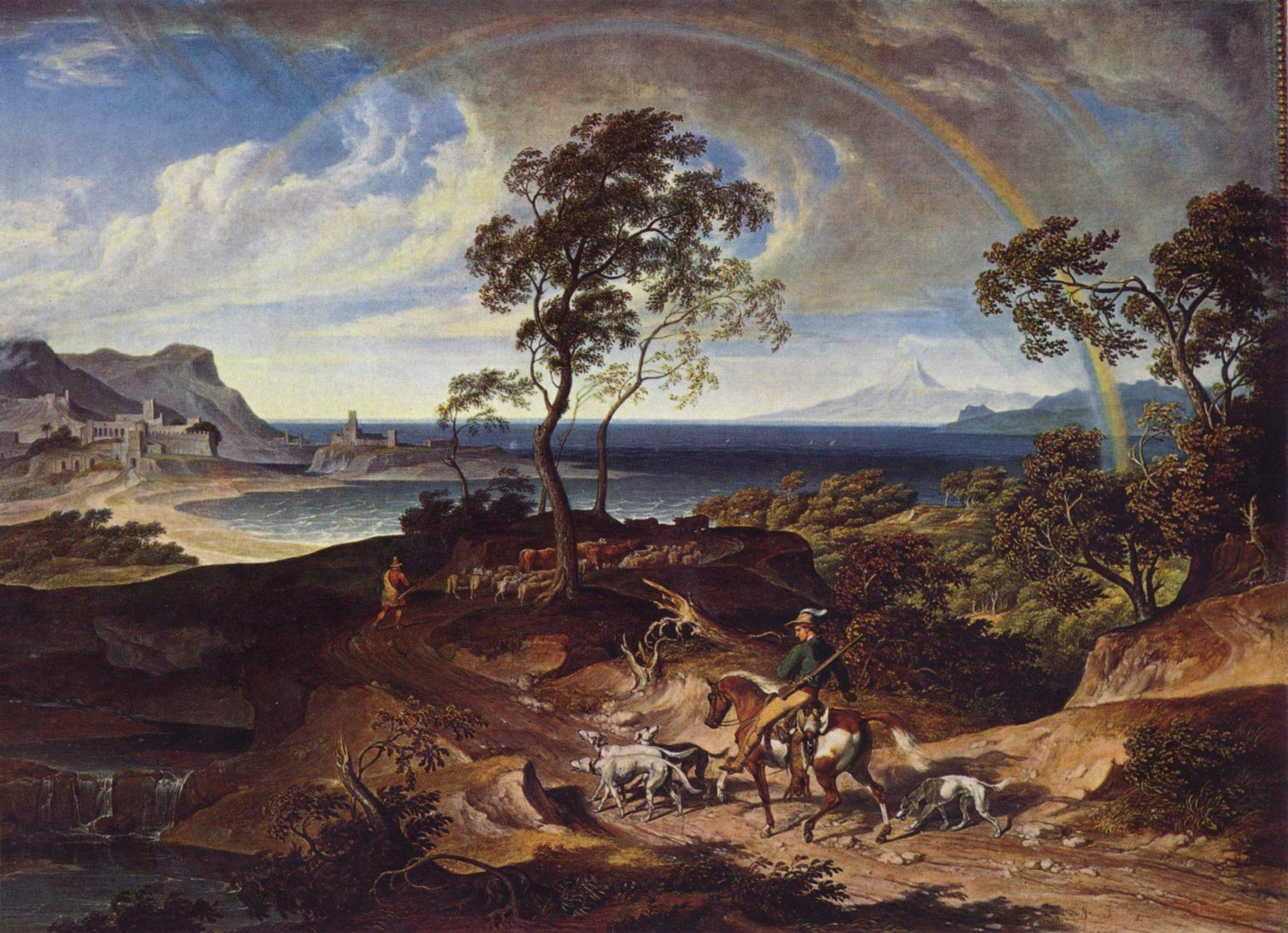 Пейзаж после грозы, Кох Йозеф Антон
