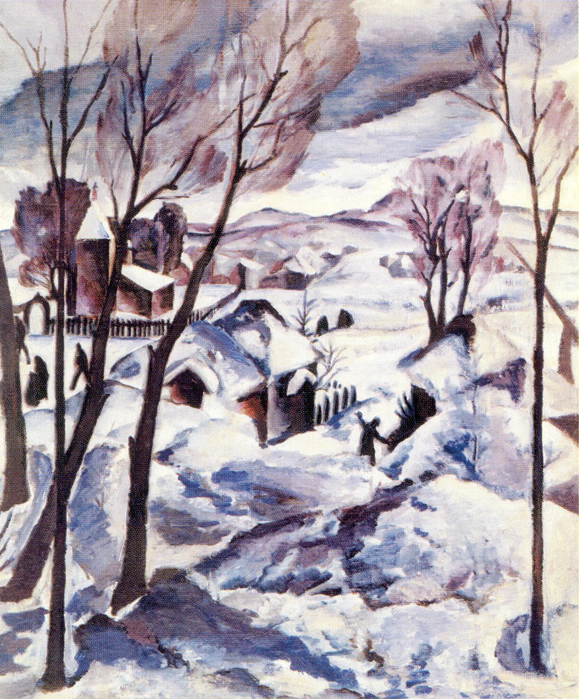 Зима на окраине города, Кравченко Алексей Ильич