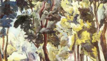 Пруд среди деревьев. Корольковские дачи