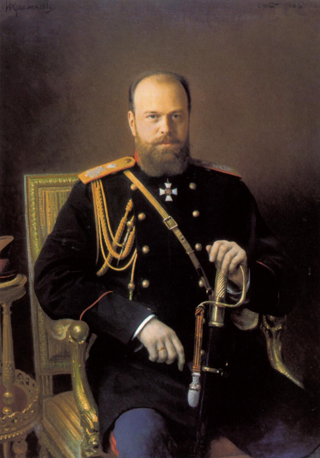 Портрет Александра III, Крамской Иван Николаевич