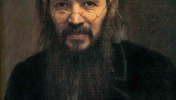 Портрет Алексея Сергеевича Суворина. Фрагмент