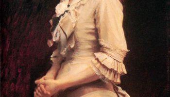 Портрет дочери художника Софьи Крамской