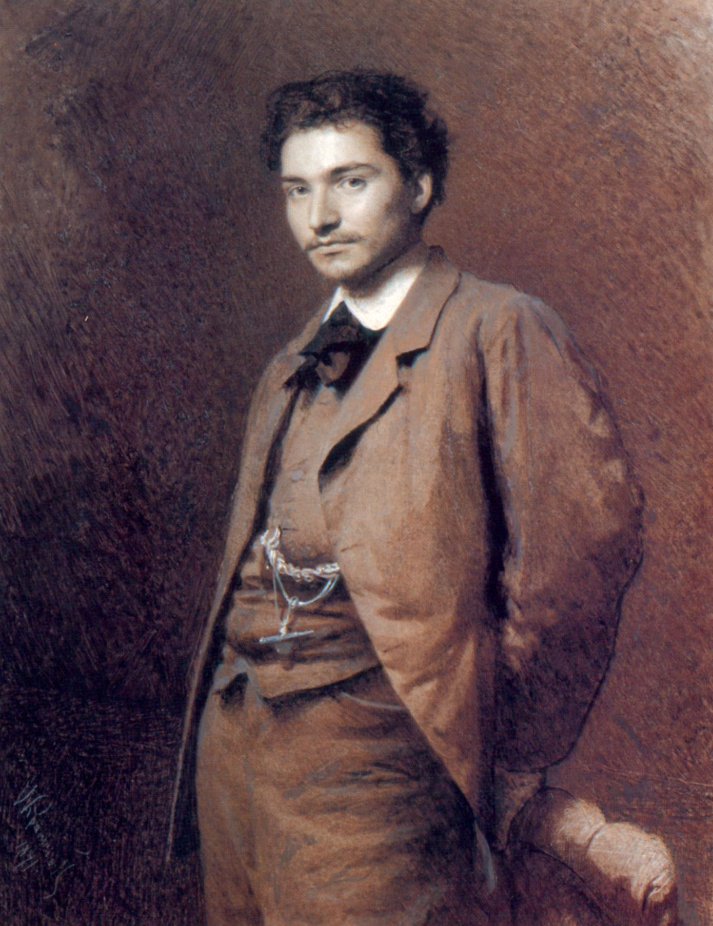 Портрет художника Федора Александровича Васильева, Крамской Иван Николаевич