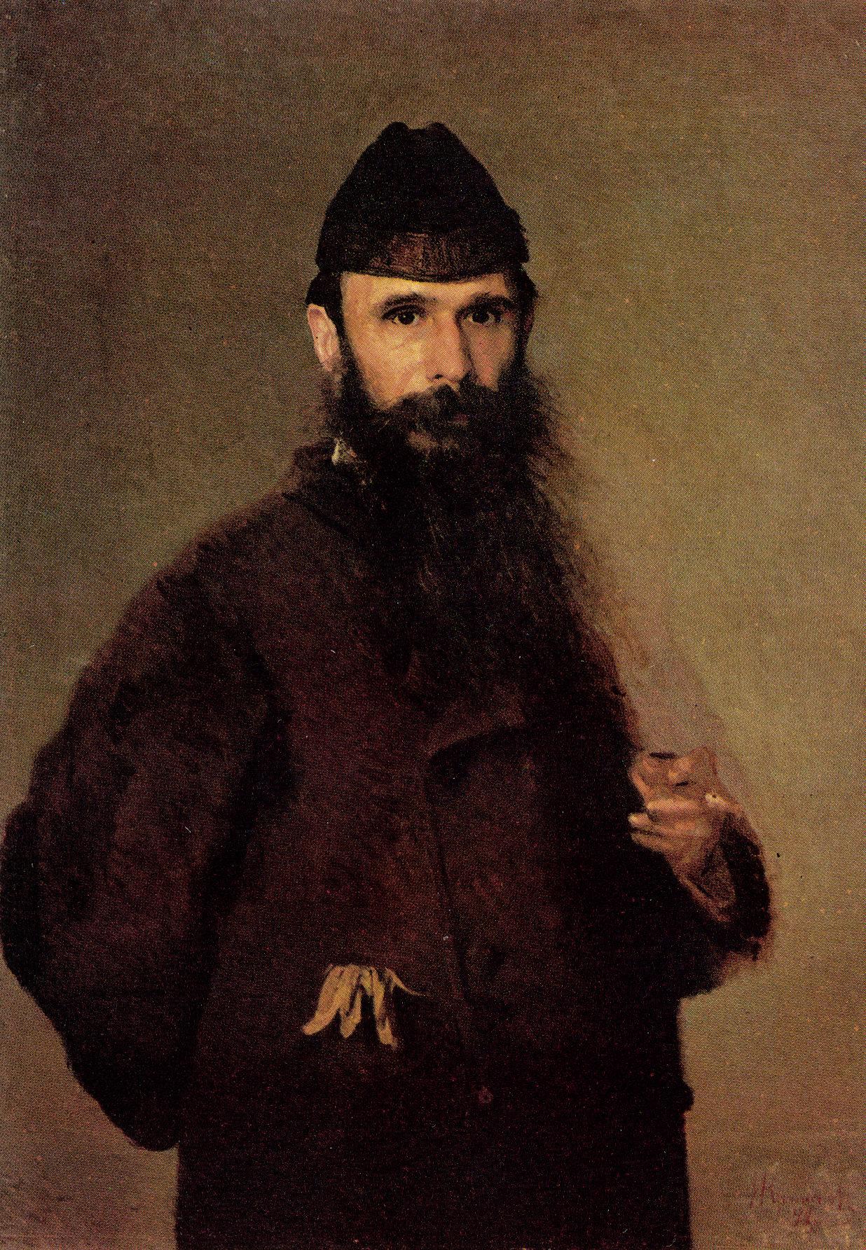 Портрет художника Александра Дмитриевича Литовченко, Крамской Иван Николаевич