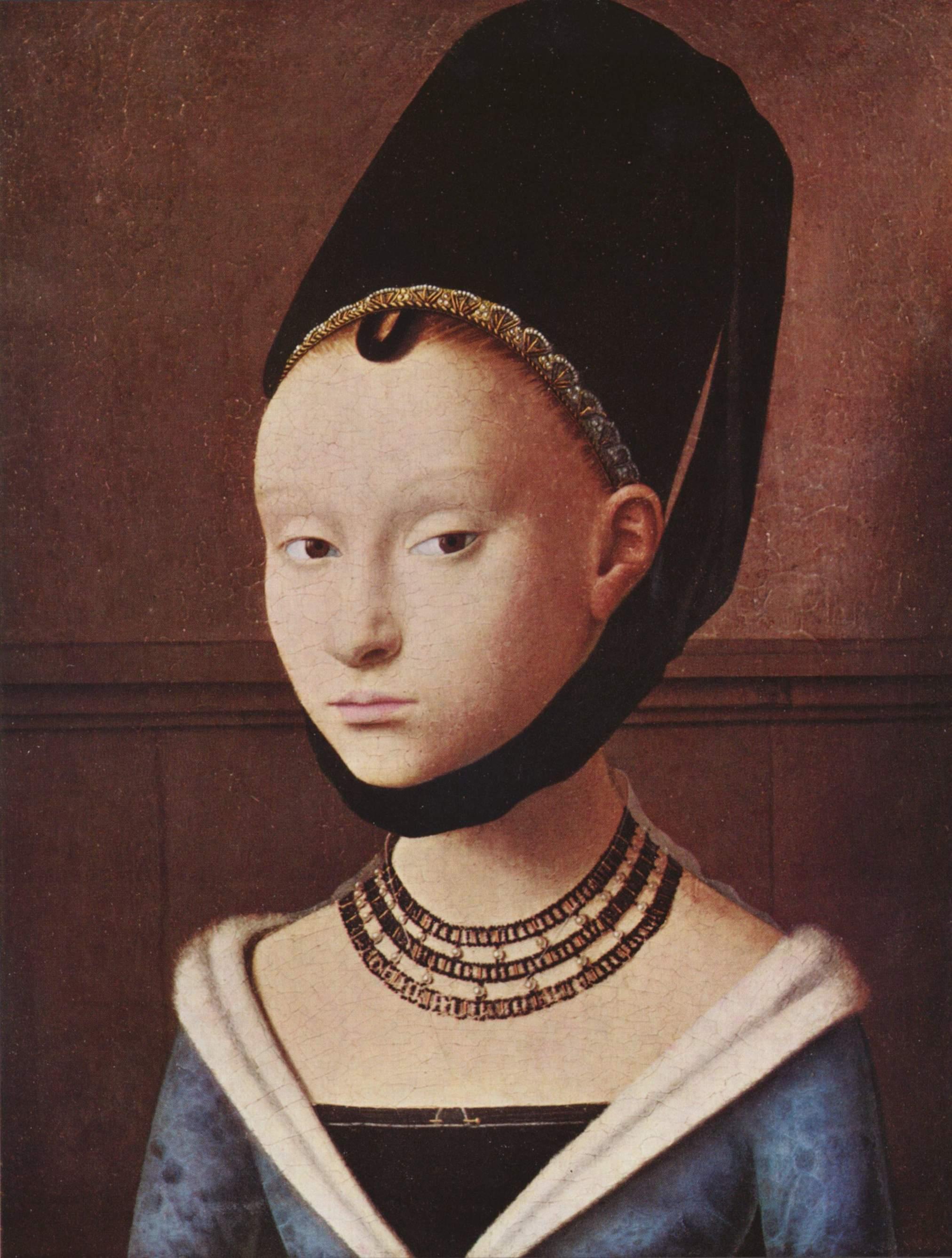 Портрет молодой девушки, Кристус Петрус