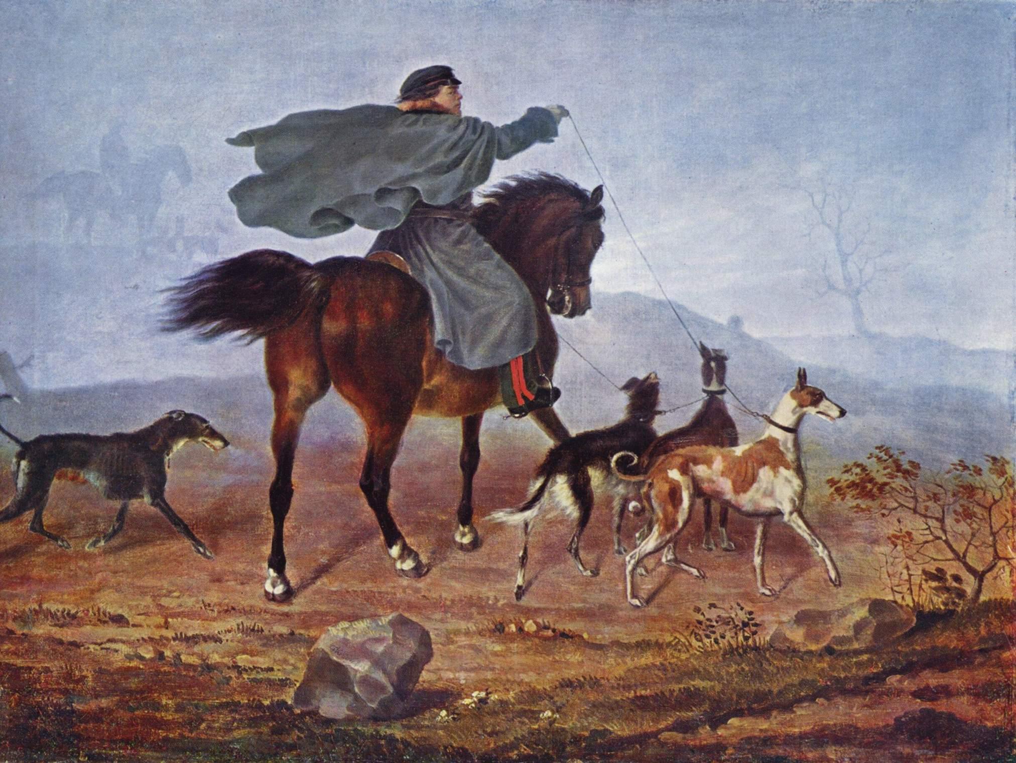 Выезд на охоту, Крюгер Франц