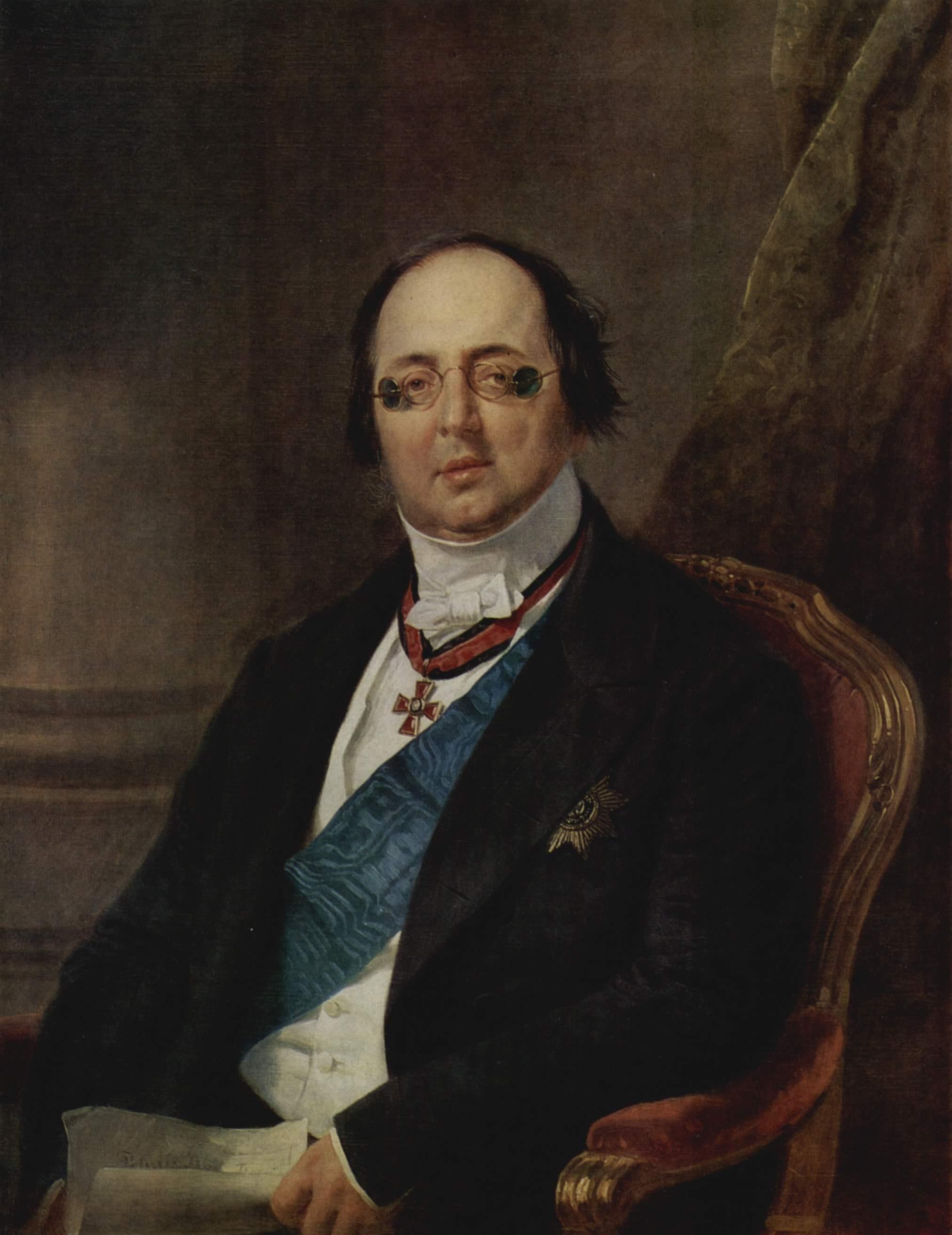Портрет графа Александра Кушелева-Безбородко, Крюгер Франц