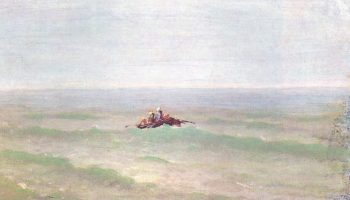 Лодка в море. Крым
