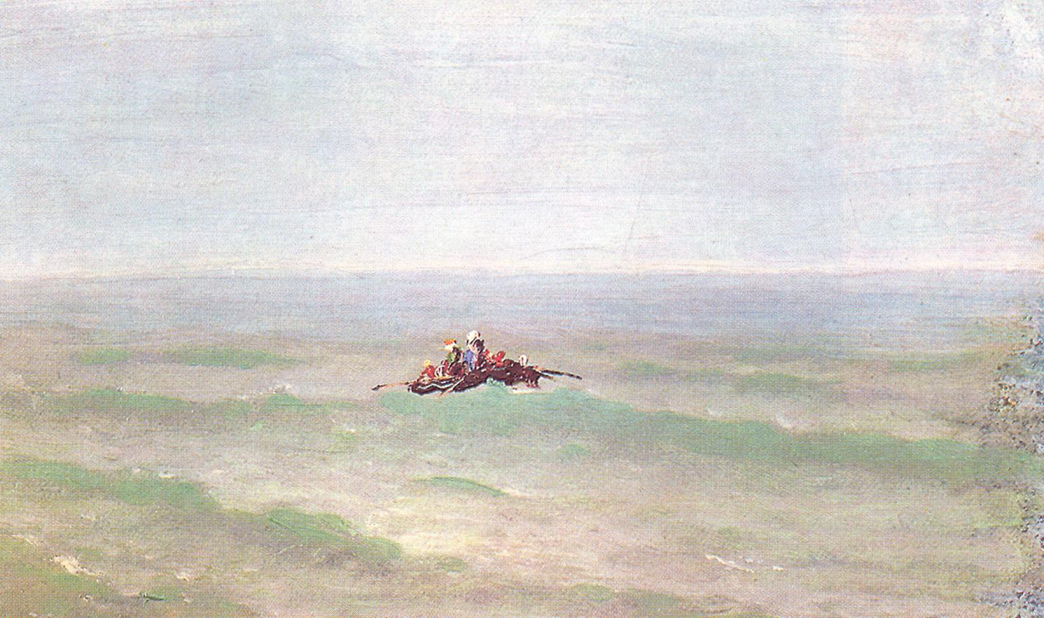 Лодка в море. Крым, Куинджи Архип Иванович