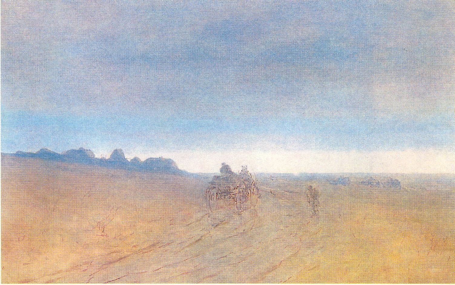 Осень. Туман, Куинджи Архип Иванович