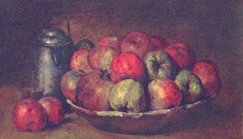 Натюрморт с яблоками и гранатами