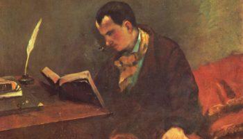 Портрет Бодлера