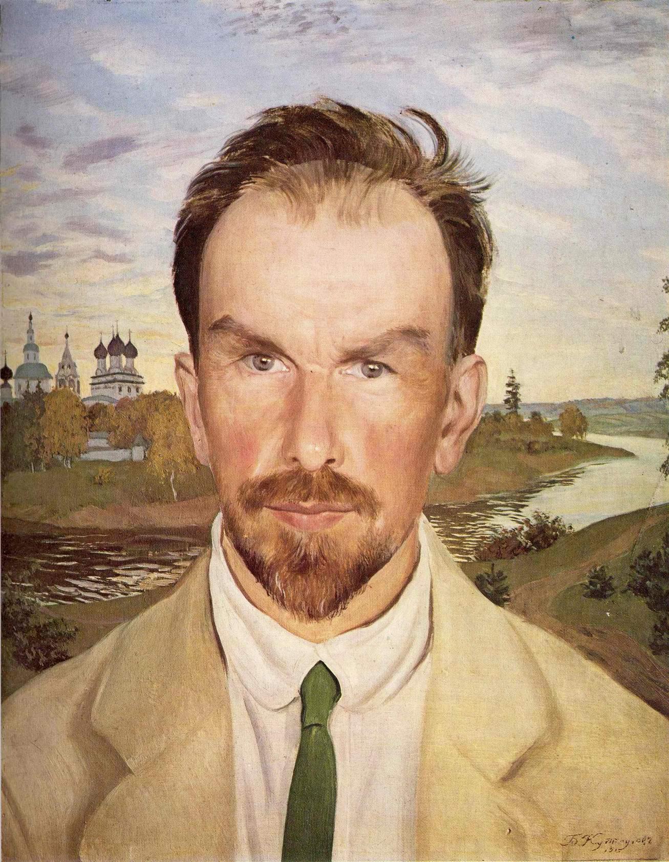 Портрет Александра Ивановича Анисимова, Кустодиев Борис Михайлович