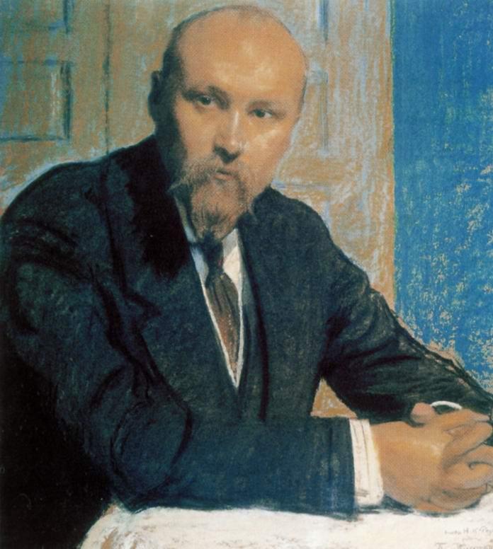 Портрет Николая Константиновича Рериха, Кустодиев Борис Михайлович