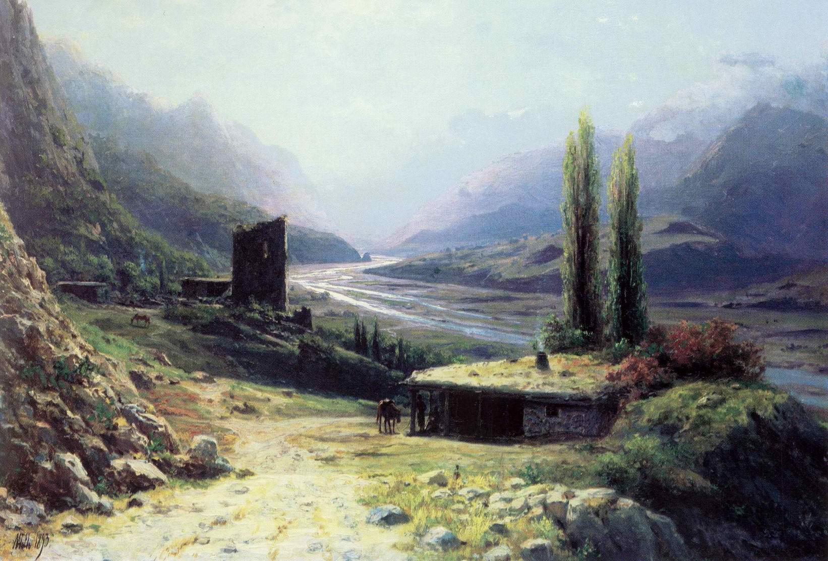 Кавказское ущелье, Лагорио Лев Феликсович
