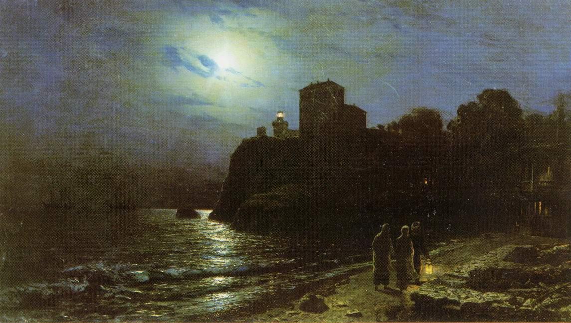 Лунная ночь на море, Лагорио Лев Феликсович