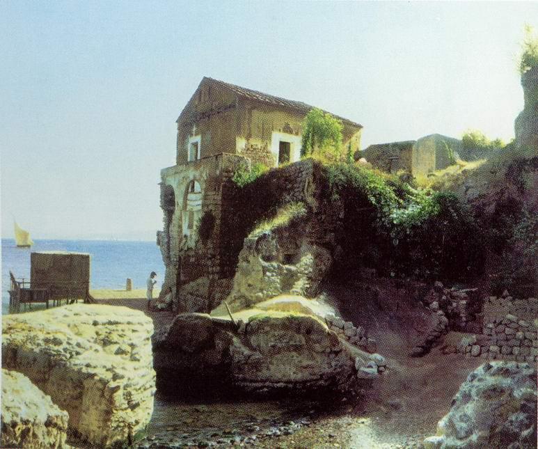 На острове Капри. Рыбацкий домик, Лагорио Лев Феликсович