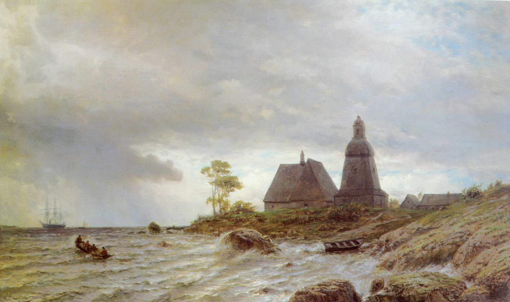 Северный пейзаж, Лагорио Лев Феликсович
