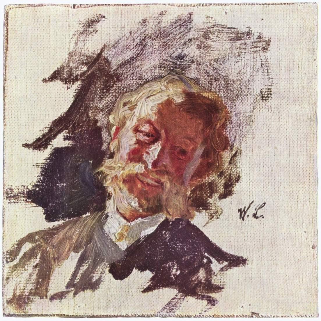 Мужской портрет, Лейбль Вильгельм Мария Хубертус