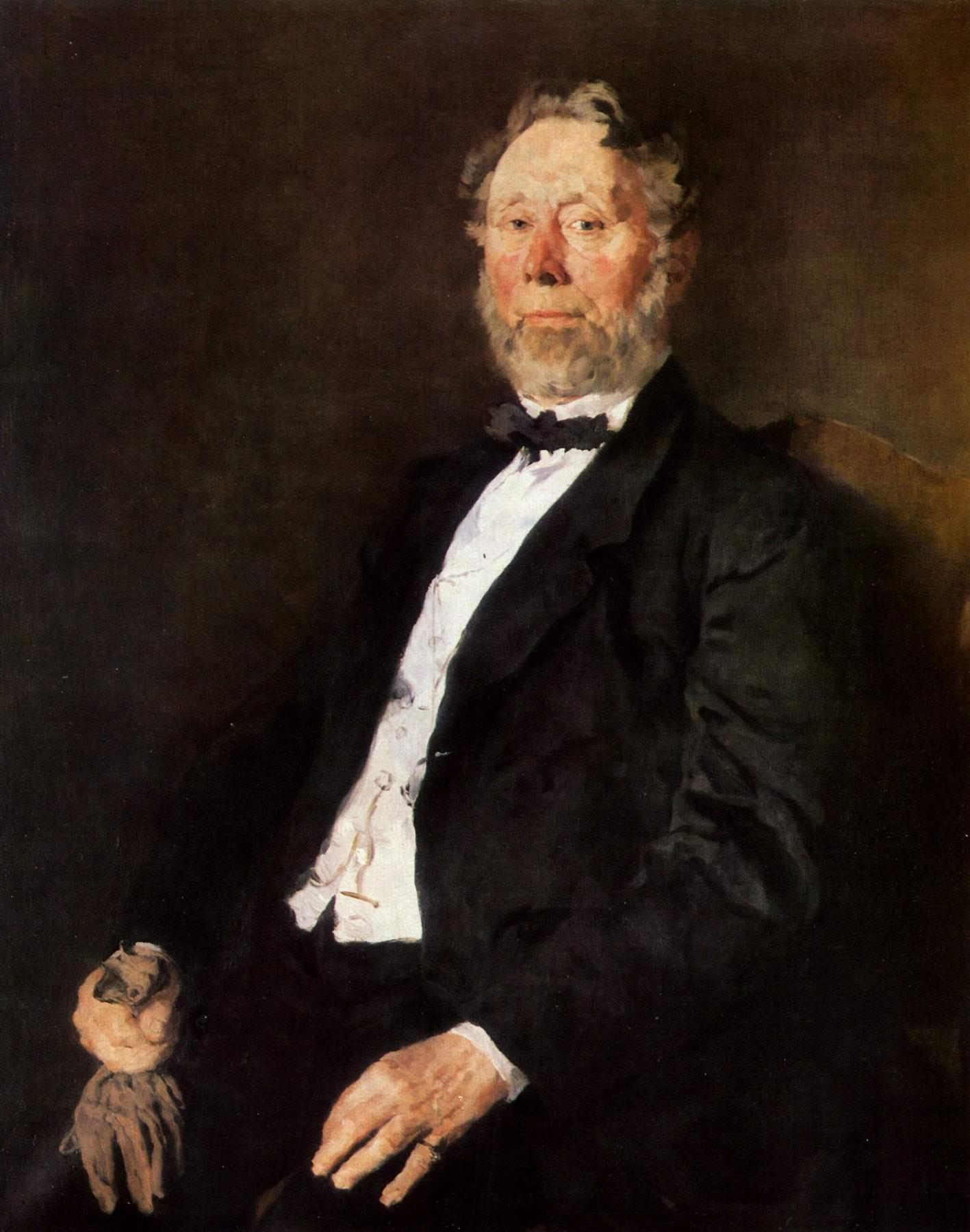 Портрет Иоганна Генриха Палленберга, Лейбль Вильгельм Мария Хубертус