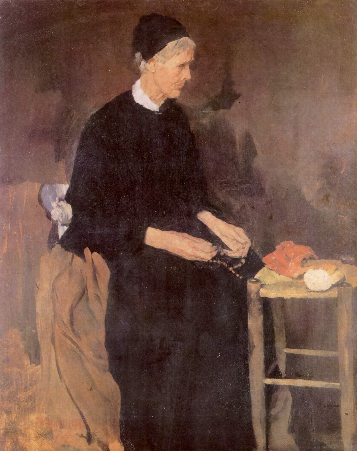 Старая парижанка, Лейбль Вильгельм Мария Хубертус