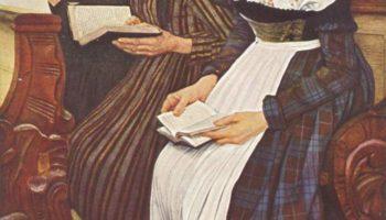 Три женщины в церкви