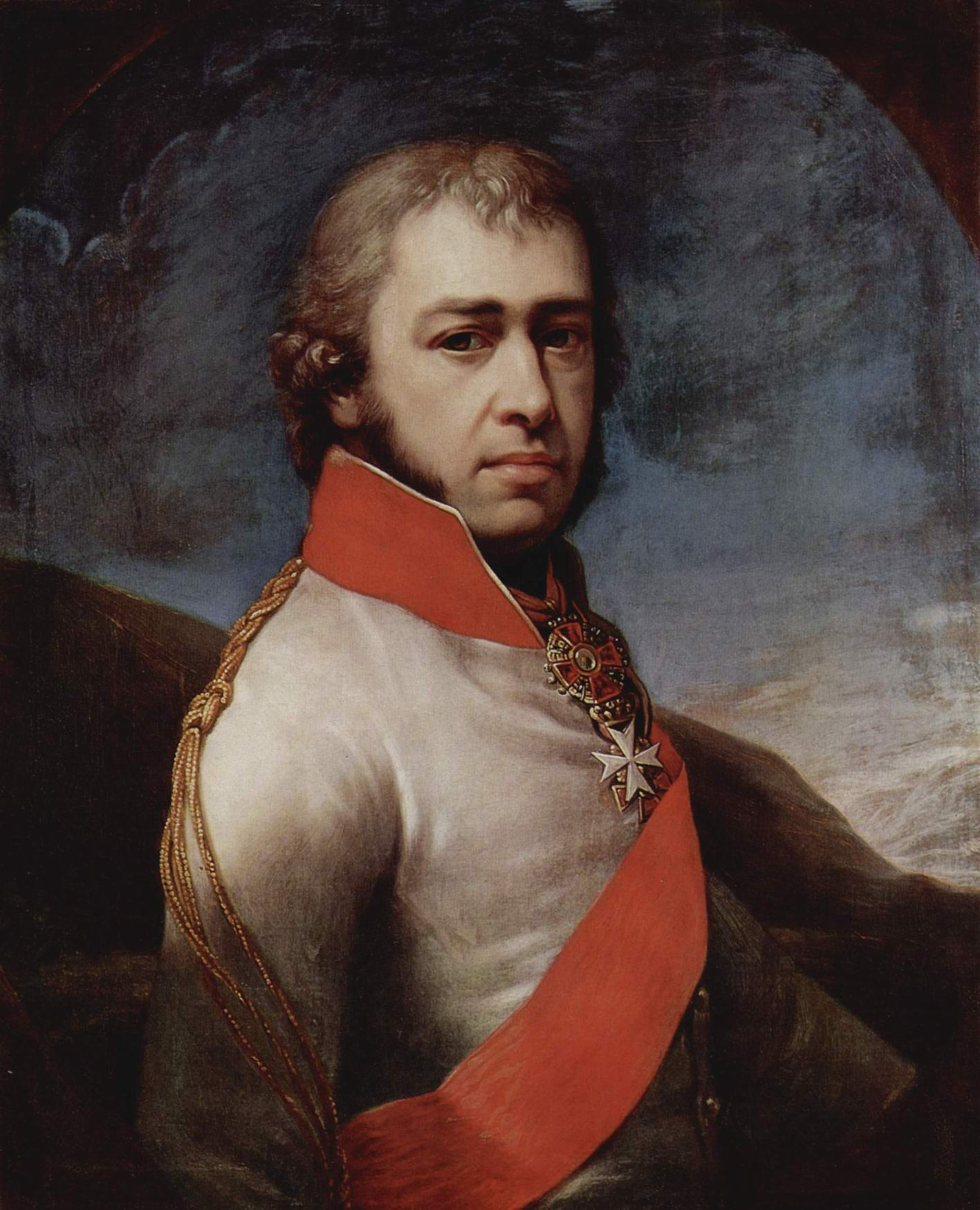 Портрет князя Бориса Голицына, Лампи Иоганн Баптист Старший