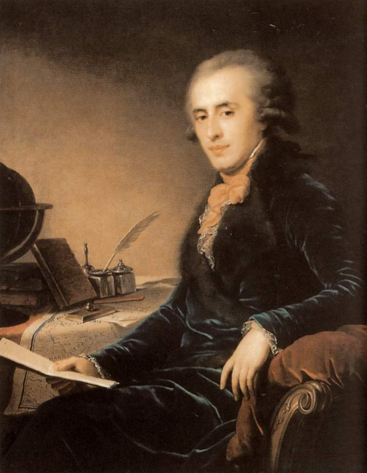 Портрет светлейшего князя Платона Александровича Зубова, Лампи Иоганн Баптист Старший