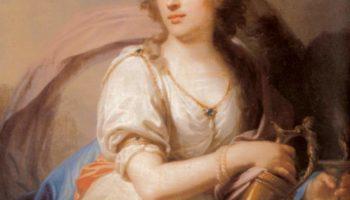 Портрет княгини Е.Ф. Долгорукой в виде Гебы, кормящей орла