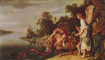 Ангел и Товия с рыбой