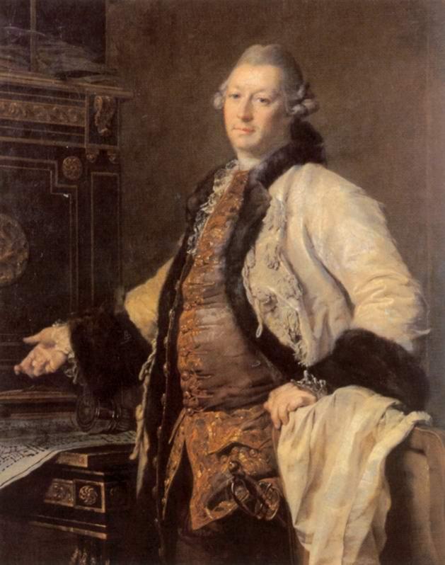 Портрет архитектора Александра Филлиповича Кокоринова, Левицкий Дмитрий Григорьевич