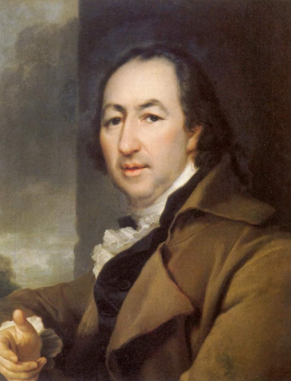 Портрет Николая Ивановича Новикова, Левицкий Дмитрий Григорьевич