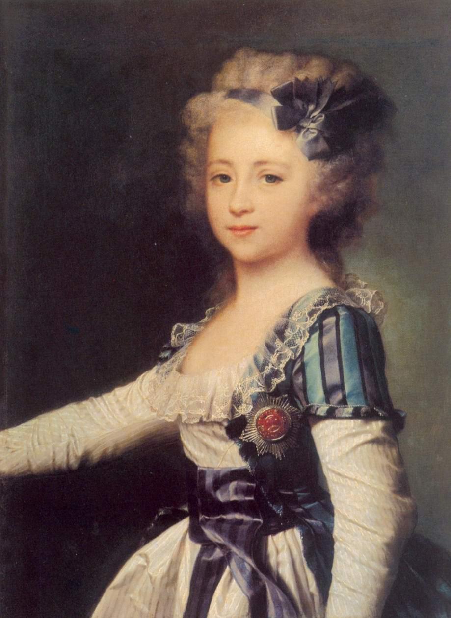 Портрет великой княжны Елены Павловны в детстве, Левицкий Дмитрий Григорьевич