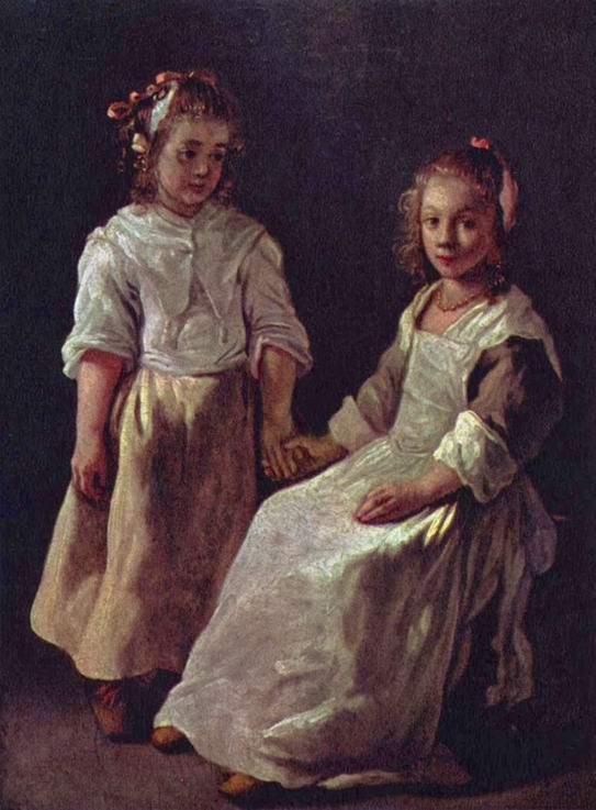 Две девушки, Ленен Луи