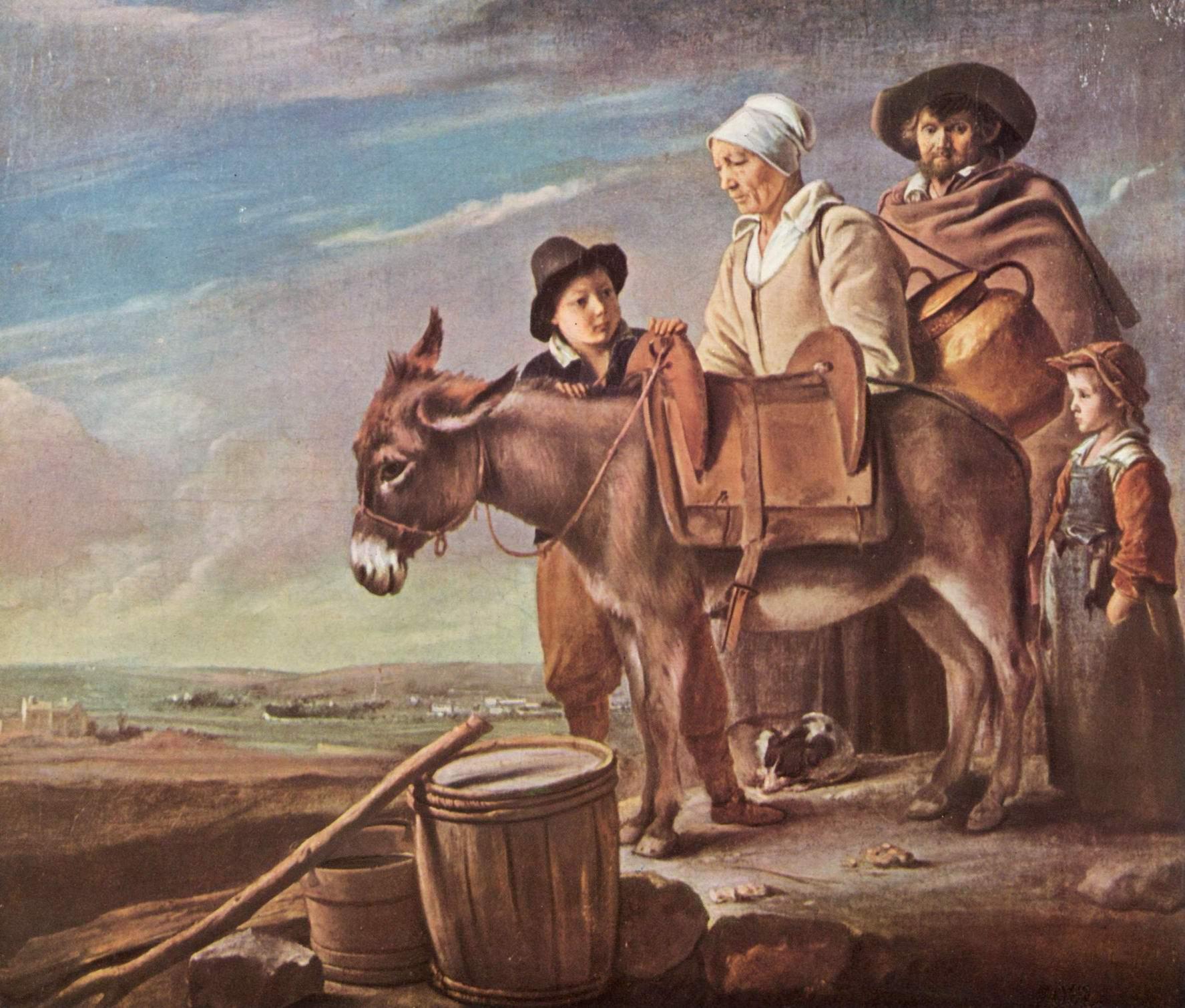 Семейство молочницы, Ленен Луи