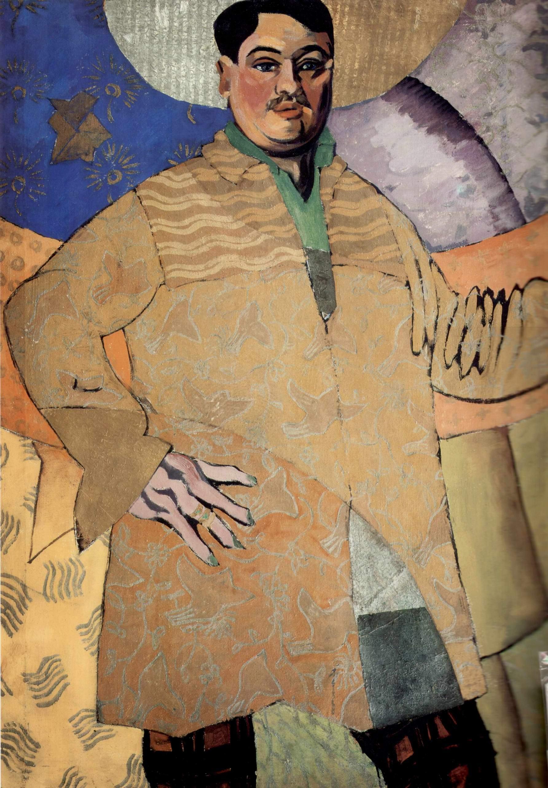 Автопортрет. La Grand Peintre, Лентулов Аристарх Васильевич