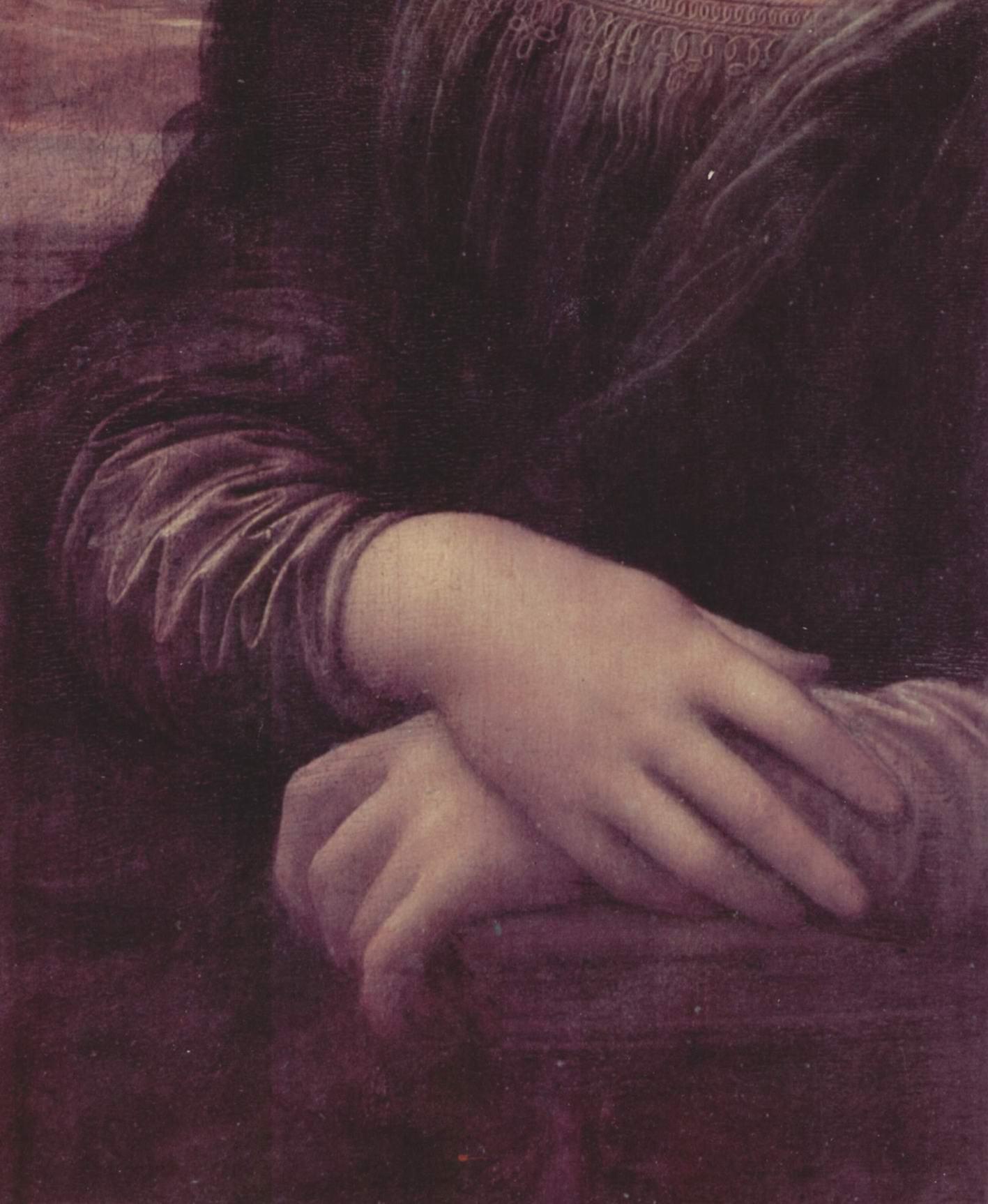 Мона Лиза (Джоконда). Фрагмент, Леонардо да Винчи