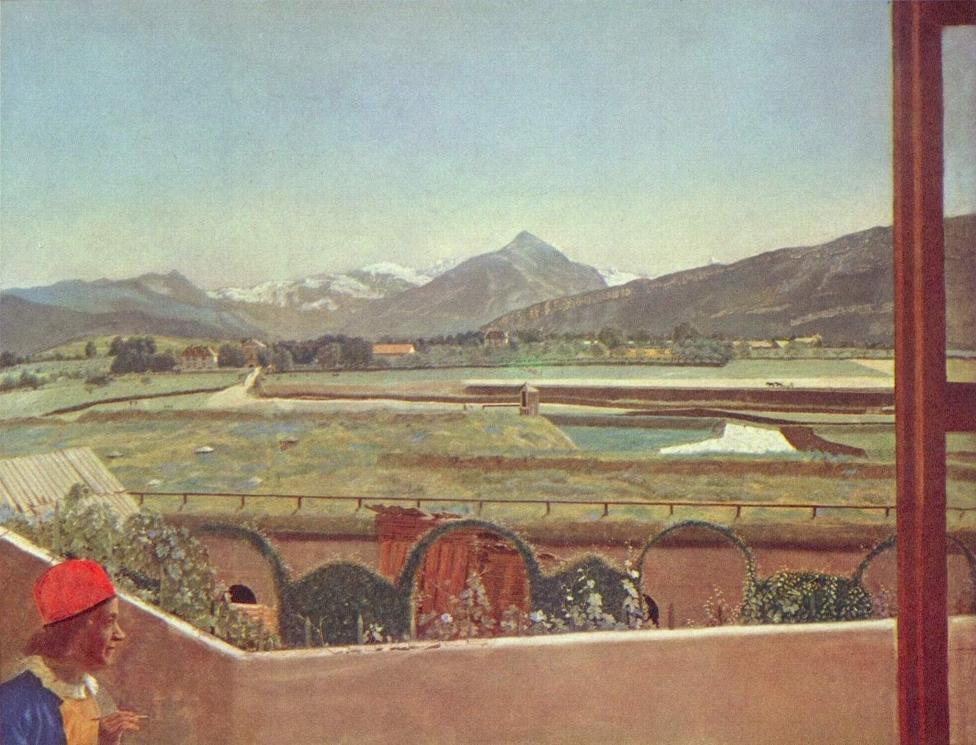 Пейзаж в окрестностях Женевы, Лиотар Жан-Этьен