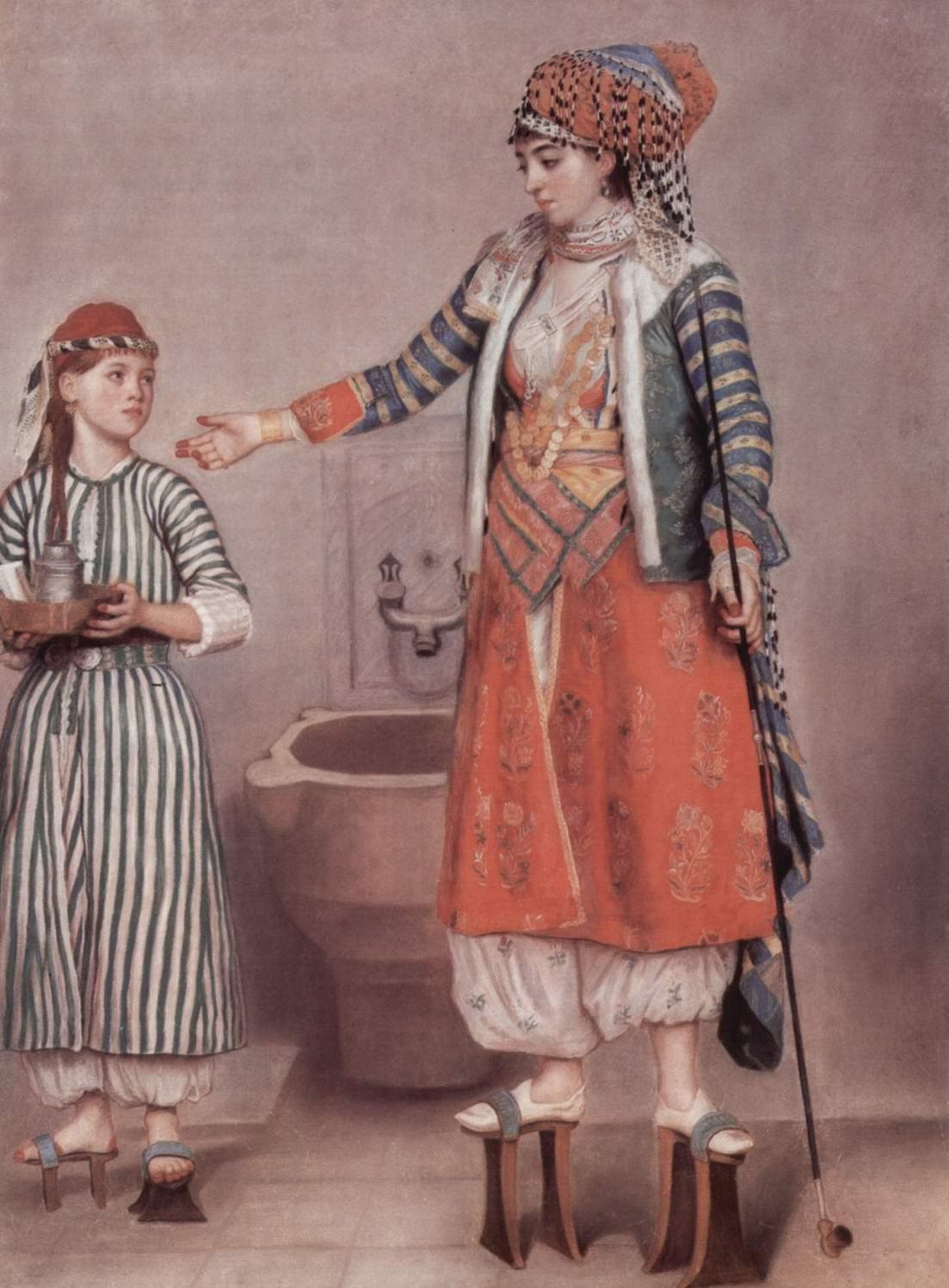 Знатная турчанка со служанкой, Лиотар Жан-Этьен