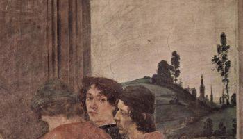 Цикл фресок в капелле Бранкаччи в Санта Мария дель Кармине (Флоренция). Мученичество апостола Петра. Фрагмент