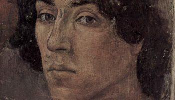 Цикл фресок в капелле Бранкаччи в Санта Мария дель Кармине (Флоренция). Мученичество апостола Петра. Фрагмент. Автопортрет художника