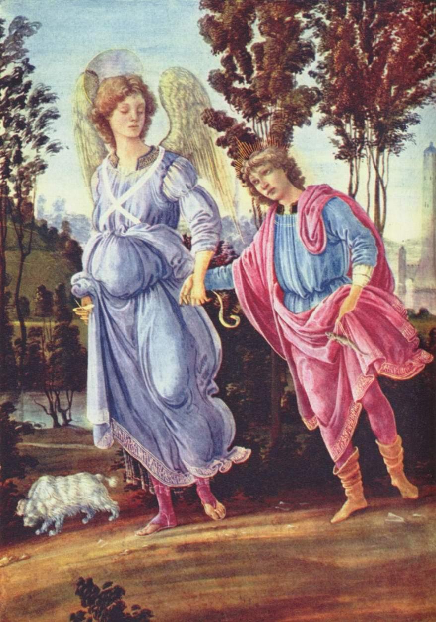 Товия и ангел, Липпи Филиппино