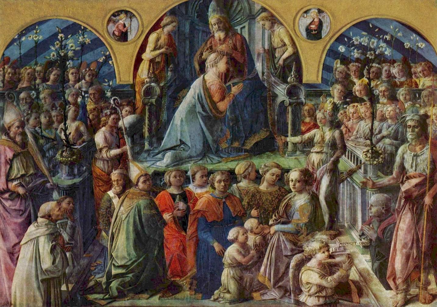 Коронование Марии, Липпи Фра Филиппо