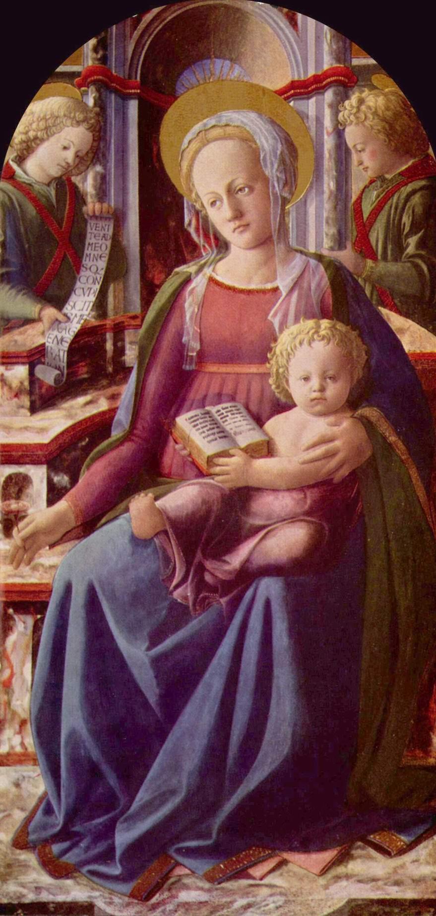 Мадонна на троне, Липпи Фра Филиппо
